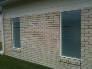 Window Frosting - garage